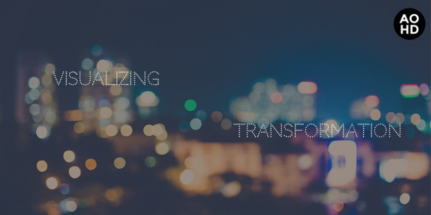 Visualizing transformation graphic
