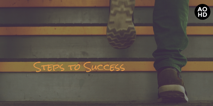 steps to success cover photo